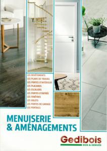 Catalogue menuiserie et aménagement 2018
