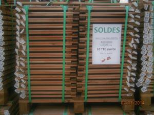 Soldes 2014 dalles caillebotis bois