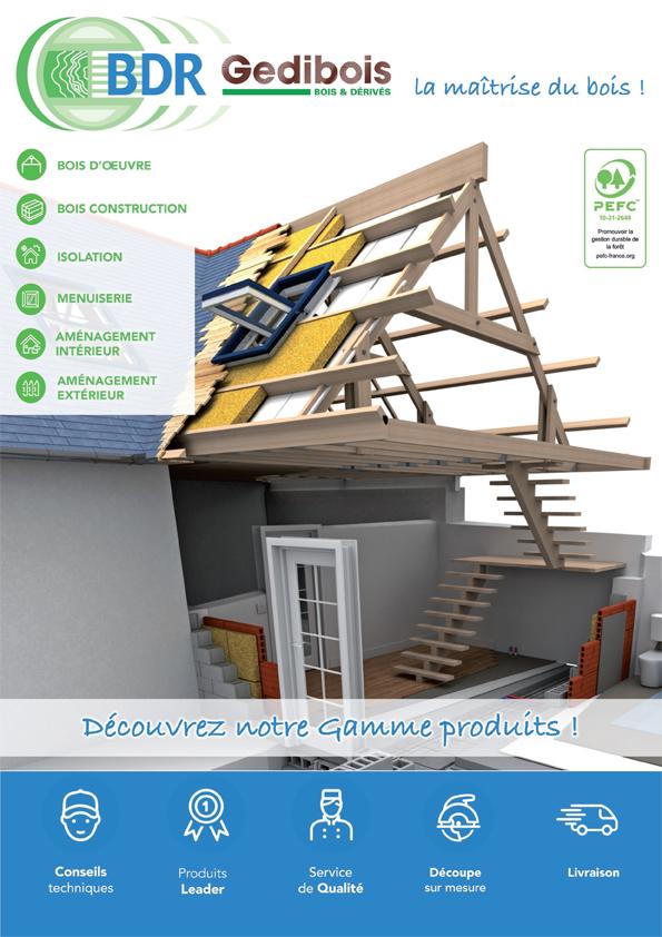 Gédibois, bois de construction pour professionnels