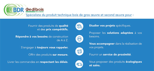 BDR Gedibois services clients
